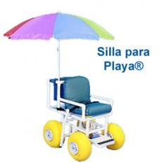 Silla de ruedas para Playa