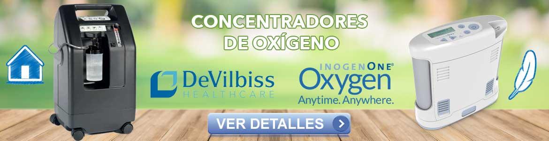 Concentradores de Oxígeno: Casa y Portátiles