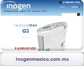 concentrador de oxigeno inogen