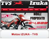 Motos TVS y Izuka
